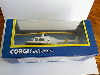Corgi Collection Jet Ranger Sheriffs Department Helicopter 1:100 scale 93185 c3