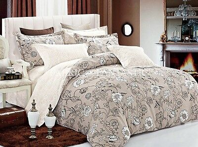 SHACHA Super King Size Bed Duvet/Doona/Quilt Cover Set New