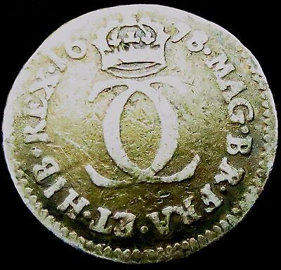 R749: 1678 Charles II Restoration Silver Twopence