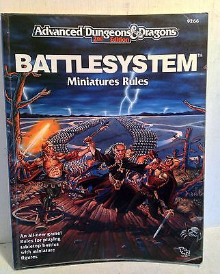 Advanced Dungeons & Dragons 2nd Ed.: Battlesystem Miniatures Rules, 9266 (3963)