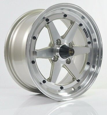 4pcs XR4 LONG CHAMP 15 inch Mag Wheels Rim 4X100 Alloy wheel Car Rims H608-G-1