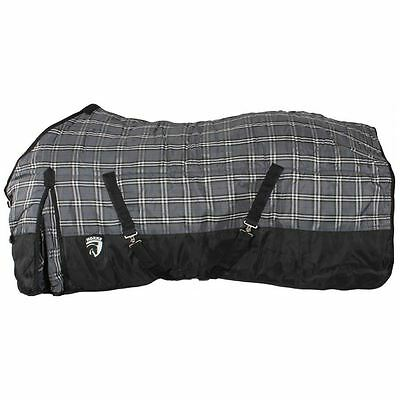 Horka 200G Heavyweight Check 1200D Stable Rug Equestrian Horse Belly Sheet