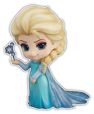 Frozen Let It Go Elsa the Snow Queen Anime Car Window Decal Sticker 001