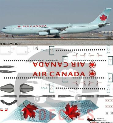 1/144 Air Canada Airbus A340-300 Decals for Revell model