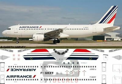 1/144 Air France Airbus A320 Decals for Revell model