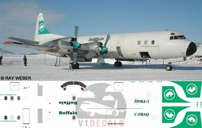 1/144 Buffalo Airways L-188 Electra Ice Pilots Decals for Minicraft model