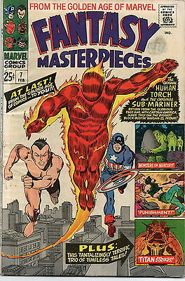 Fantasy Masterpieces # 7 / V.good+ / 72 Pages / Golden Age Reprints.