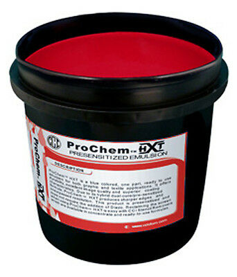 CCI ProChem HXT Red Photopolymer Pre Sensitized Emulsion Screen Printing -1 QT