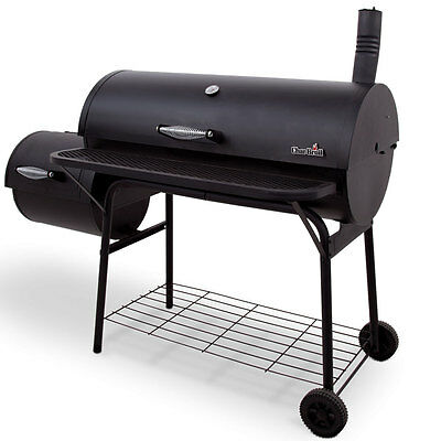 Char-Broil 1280 1,025-Square Inch Combination Offset Deluxe Smoker - 14201571