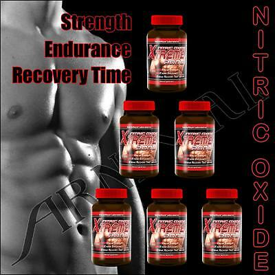 NITRIC OXIDE EXTREME L-Arginine BUILD MUSCLE Growth BODYBUILDING FITNESS Workout