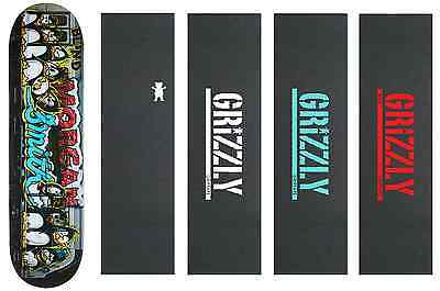 Blind Skateboard Deck Morgan Train Tag R7 8.25 Free Grizzly Grip Tape