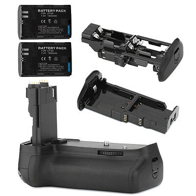 Neewer Multi-Power Battery Grip+ 2PCS Battery for Canon EOS 60D Cameras ND#17