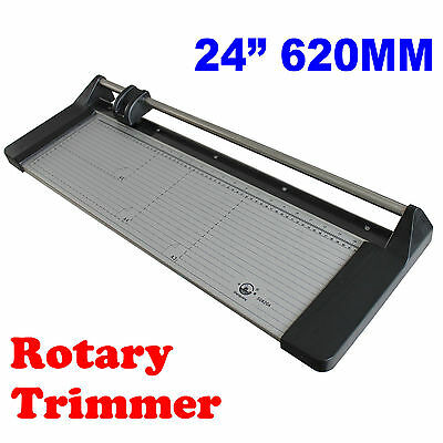 Safe Rotary 24inch Blade Cutter Trimmer Paper Card PVC Business Card Slitter