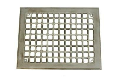 "Vintage Floor Heat Grate Register Steel Metal Vent 8.5"" x 11.5"""