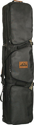 ROME CACHE CAMOUFLAGE CAMO BLACK SNOWBOARD BOARD BAG with WHEELS SNOW 2016