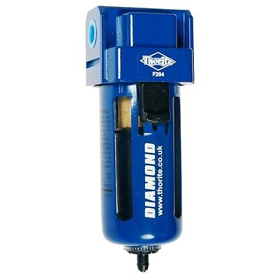 "Thorite 1/4"" BSP Compressed Air / Pneumatic Filter F204"