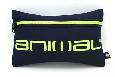 "Animal Neoprene Boys Pencil Case ""kels"" Total Eclipse Navy. (He6Wj004)"