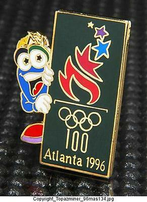 Sports Memorabilia Helpful Olympic Pins 1996 Atlanta Georgia Usa Usa Canoe Kayak Team Usa Noc Country Atlanta 1996