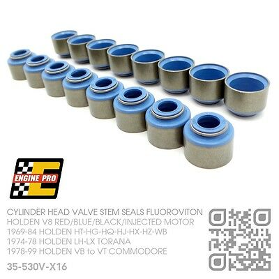 Valve Stem Seals 5.0L 304/stroker 355 V8 Motor [Holden Vn-Vp-Vr-Vs-Vt Commodore]