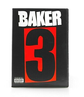 Baker 3 Dvd Skate Video Greco Reynolds Herman Dollin Dixon Skateboard New Rare