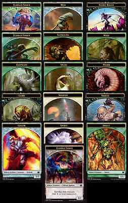 MTG MM15 Modern Masters 2015 choose your Token - Singles & Playsets available