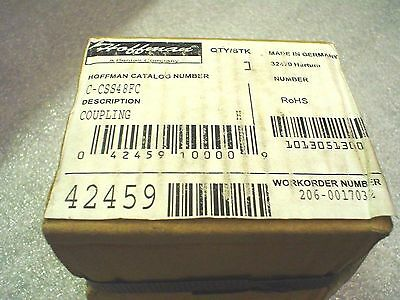 *Factory Sealed* Hoffman C-CSS48FC Stainless Coupling 304 SS for 48.3 mm tube