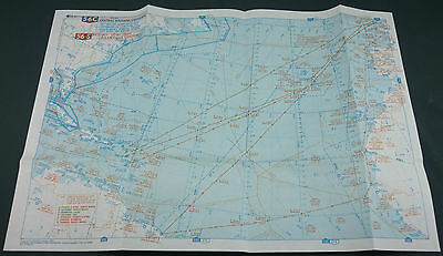 Air France - Belle Carte Du Concorde - Atlantique Central 56 S - Rare - Aviation