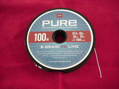 100 Meters Hatch Outdoors Premium Braided Fly Line Backing