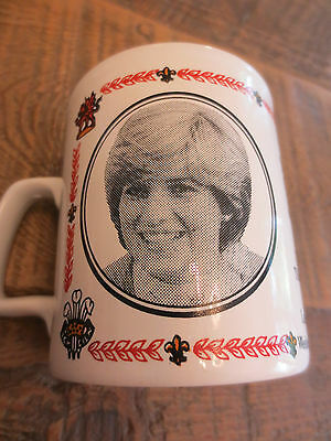 Charles and Di Commemorative Mug 1981