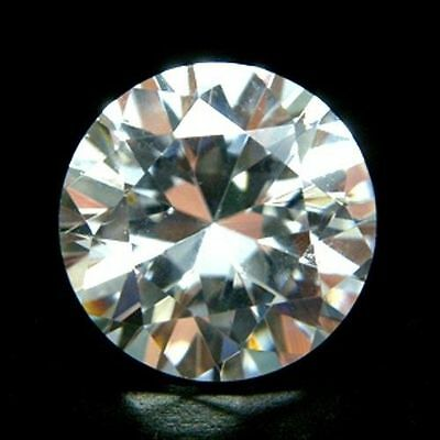 10mm Round-Facet Ice-White Cubic Zirconia (Jewellery Setting Options Available)