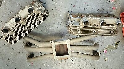 1961 - 1963 CORVAIR HP HEADS (102HP)  tri-port and tri-port intake manifold
