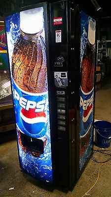 Dixie Narco 276E 501e SIID Multi Price Soda Vending Machine bottle coke pepsi