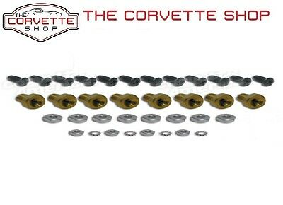 C3 Corvette Lower Rocker Panel Mounting Repair Kit 1970-1982 33751
