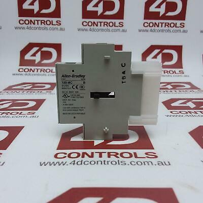 Allen Bradley 100-MCA02 Dual Interlock for 100-C Contactors - Used - Series A