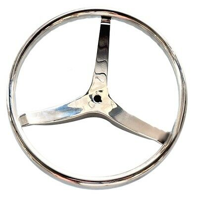 Stainless Steel Ship Steering Wheel Yacht Marine 15.5""