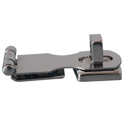 Staniless Steel Ship Marine Hinge Safety Hasp ( Stamped ) Fixed Plate