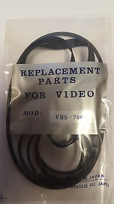 Vtc9300  / Vbs7000 Video Belt Kit For Sanyo /  Fisher (4) (Lot Of 2)