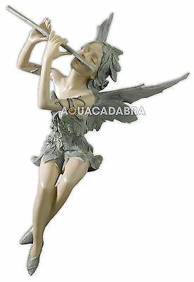 Toscano Fairy Of The West Wind Sculpture Ornament Garden Pond Feature Blagdon