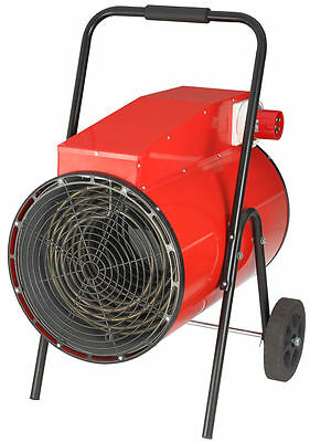SAHARA 3KW INDUSTRIAL FAN HEATER 1 YEAR