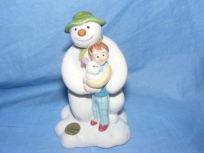 John Beswick The Snowman And The Snowdog Kneeling  JBS16 Raymond Briggs NEW