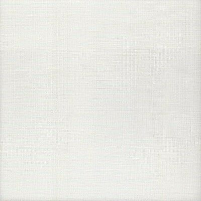 Zweigart 25ct Dublin Linen Cross Stitch Fabric UNDER a Fat Quarter 100 White