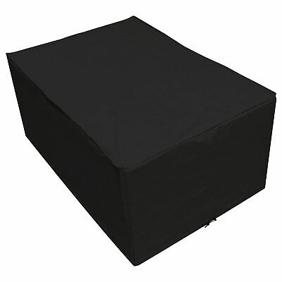 Oxbridge Black Small Table Waterproof Outdoor Garden Furniture Cover