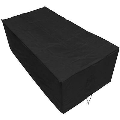 Oxbridge Black Large Table Waterproof Outdoor Garden Furniture Cover