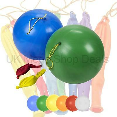 Large Punch Balloons Children Ball Birthday Party Bags Pinnata Fillers Toys