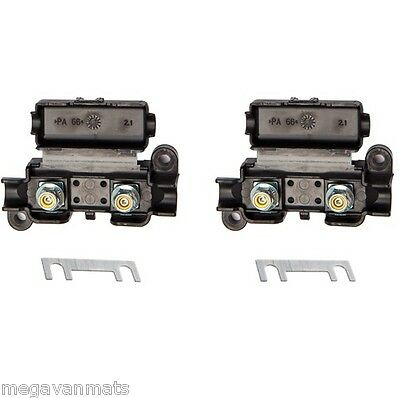 2 x Midi Fuse Holder with 30A 40A 50A 60A 80A 100A Fuses for Car, Truck T3