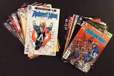 ANIMAL MAN Comic Books #0-29+ Annuals DC New 52 Complete Series 2011 Lot of 32
