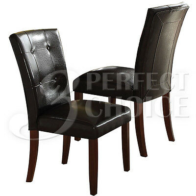 Fine Cadence Dining Side Chair Button Tufted Pu Leather Velvet Caraccident5 Cool Chair Designs And Ideas Caraccident5Info