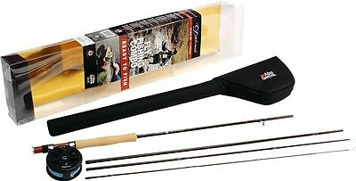 Abu Garcia Diplomat 904 LH Fly Fishing Rod and Reel Line Combo