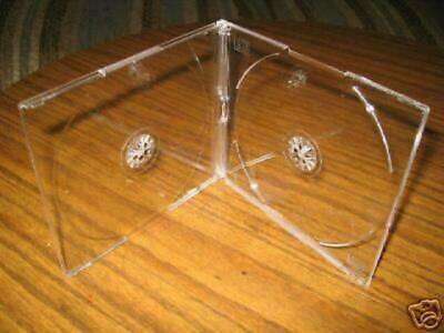 100 New 5.2Mm Double Slim Clear Cd Jewel Cases -Pakpal Bl115
