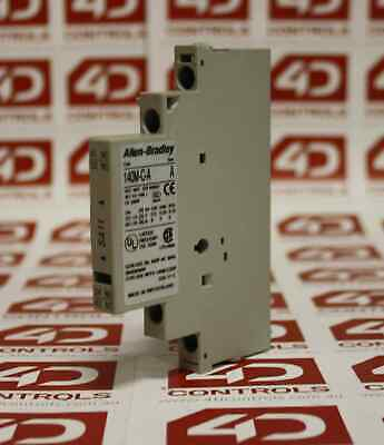 Allen Bradley 140M-C-ASA11 Auxiliary Contact Block, Right Side Mounted - Used...